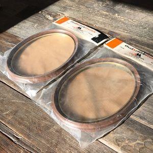 VINTAGE oval wood frames - NEW original packaging